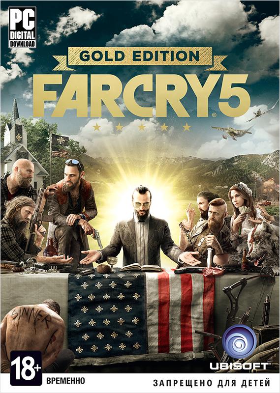 Far Cry 5. Gold Edition (Цифровая версия)Закажите игру Far Cry 5 до 26 марта 2018 года включительно и получите в подарок набор «Выживальщик».<br>
