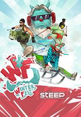 Steep: Winterfest Pack. Дополнение [PC, Цифровая версия] (Цифровая версия)Встречайте потрясающую альпийскую вечеринку Steep! Испытайте свои силы в новом виде спорта, примерьте безумные и забавные костюмы и проверьте себя в невероятных испытаниях фестиваля WinterFest!<br>