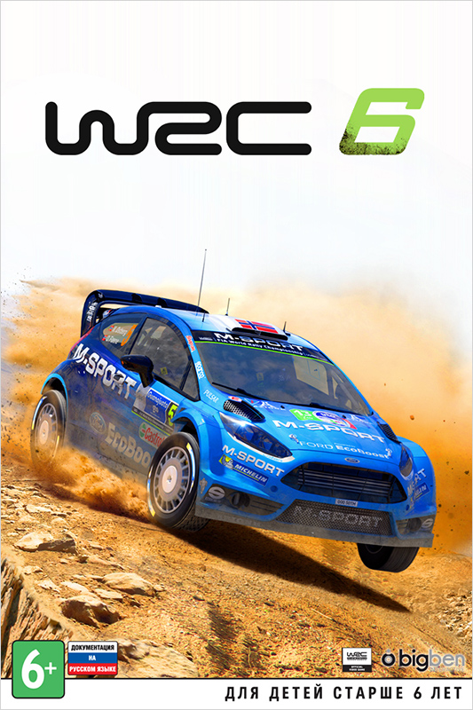 WRC 6 FIA World Rally Championship (Цифровая версия) цена 2017