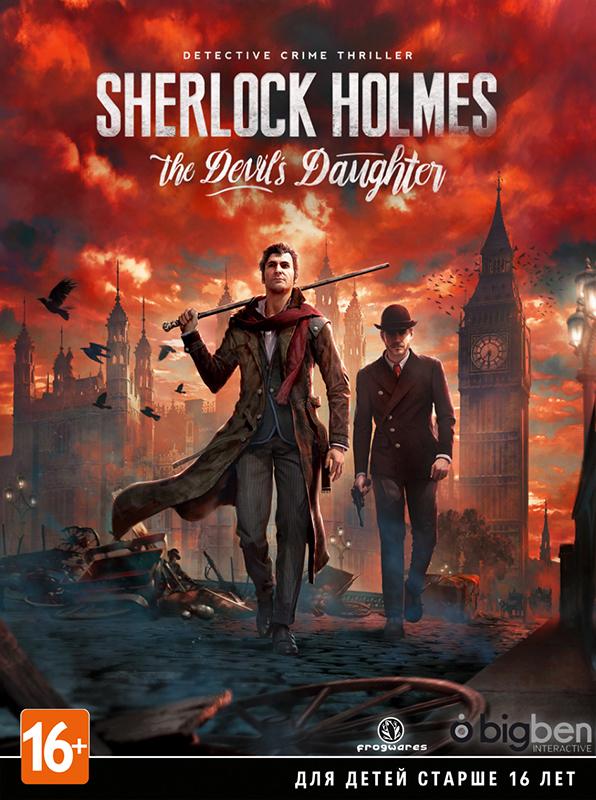Sherlock Holmes: The Devils Daughter (Цифровая версия)В игре Sherlock Holmes: The Devils Daughter станьте самым знаменитым детективом всех времён &amp;ndash; Шерлоком Холмсом!<br>