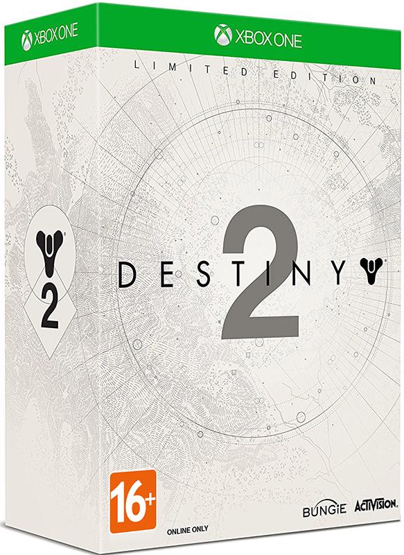 Destiny 2. Специальное издание [Xbox One]Закажите специальное издание Destiny 2, выпускаемое ограниченным тиражом, до 17:00 часов 20 октября 2017 года, и получите в подарок 2 DLC – «Холодное сердце» и «Призрак-счетчик убийств».<br>