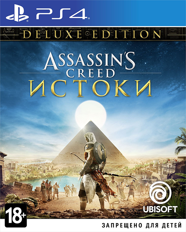 Assassins Creed: Истоки (Origins). Deluxe Edition [PS4]Закажите игру Assassins Creed: Истоки до 17:00 часов 25 октября 2017 года и получите в подарок дополнительную миссию Тайны первых пирамид.<br>