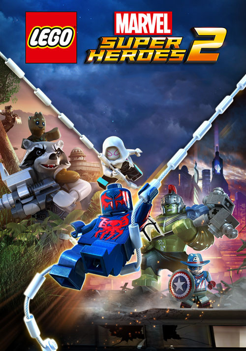 LEGO Marvel Super Heroes 2 (Цифровая версия)Вместе с любимыми супергероями и суперзлодеями сразитесь с путешествующим во времени Кангом Завоевателем в приключенческой игре &amp;ndash; LEGO Marvel Super Heroes 2!<br>