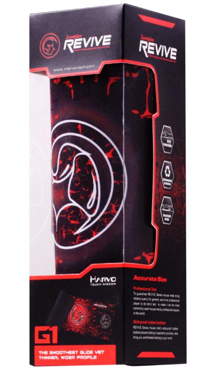 Игровой матерчатый коврик для мыши Marvo G1 для PCКоврик для мыши Marvo G1 разработан специально для игр-шутеров. Большой размер аксессуара позволяет совершать активные движения, а особая форма углов предотвращает соскальзывание мышки в наиболее ответственные моменты.<br>