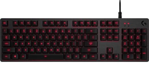 Клавиатура Logitech G413 Carbon проводная механическая игровая с подсветкой для PCКлавиатура Logitech G413 Carbon разработана для активной игры &amp;ndash; ее конструкция имеет усовершенствованный механизм, алюминиевый сплав авиационного класса и полнофункциональные клавиши.<br>