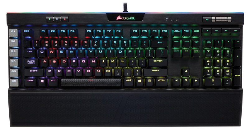 Клавиатура Corsair Gaming K95 RGB Platinum Cherry MX Speed проводная механическая игровая с подсветкой для PC клавиатура corsair gaming k70 rapidfire cherry mx speed black usb [ch 9101024 ru]