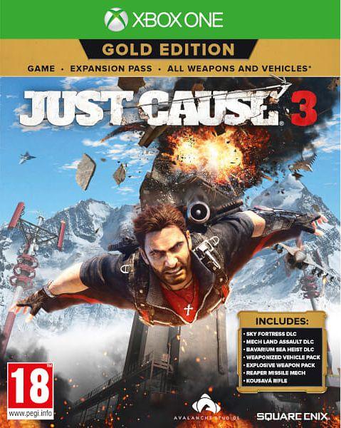 Just Cause 3. Золотое Издание [Xbox One]В игре Just Cause 3 – средиземноморская республика Медичи находится под контролем жестокого генерала Ди Равелло. Встречайте Рико Родригеза, чья миссия заключается в свержении генерала любыми доступными способами.<br>