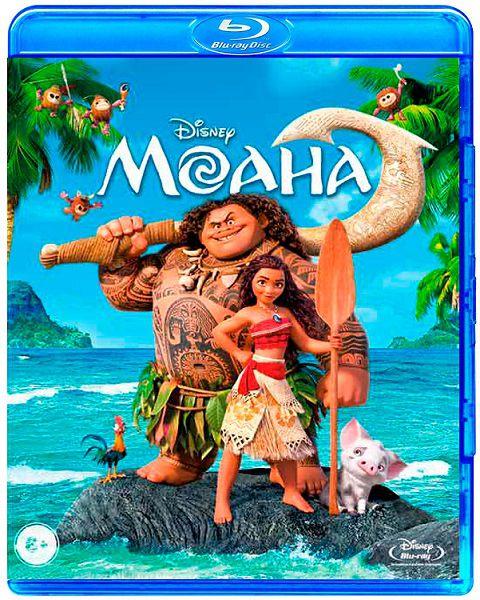 Моана (Blu-ray) MoanaБесстрашная Моана, дочь вождя маленького племени на острове в Тихом океане, больше всего на свете мечтает о приключениях и решает отправиться в опасное морское путешествие.<br>