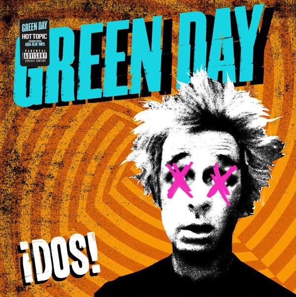 Green Day – ¡Dos! (LP) cd green day ¡dos