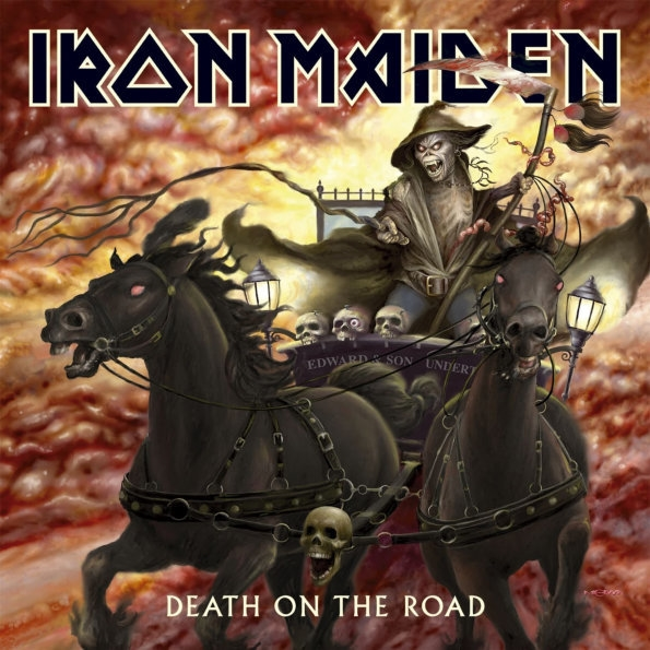 Iron Maiden – Death On The Road (2 LP) iron maiden the book of souls 3 lp