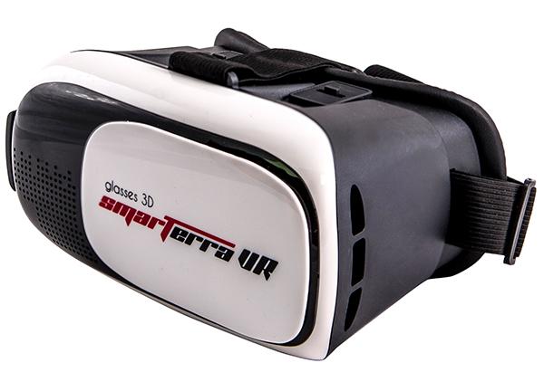 VR 3D очки виртуальной реальности Smarterra VR + BT-контроллер для смартфонов (белый)3D очки Smarterra VR открывают новую виртуальную реальность, которая станет для вас бесконечным источником ярких, разноплановых ощущений!<br>