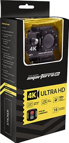 Экшн камера Smarterra W5 + Пульт ДУ (черный)Экшн-камера Smarterra W5 – это миниатюрное устройство для фото- и видеосъемки в самых экстремальных условиях. У них компактные размеры, производительные оптические системы для чётких и плавных записей, а также многочисленные уровни защиты.<br>