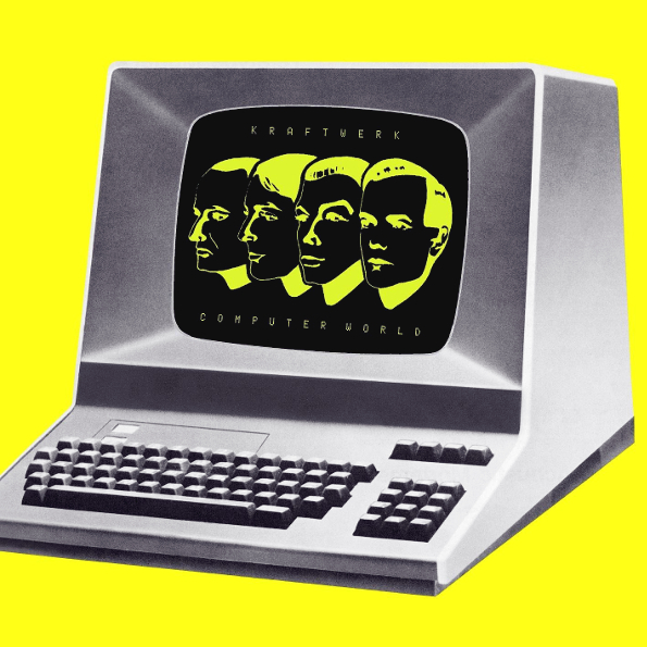 Kraftwerk – Computer World (LP)Kraftwerk – Computer World – альбом германской электронной группы Kraftwerk, вышедший в 1981 году.<br>