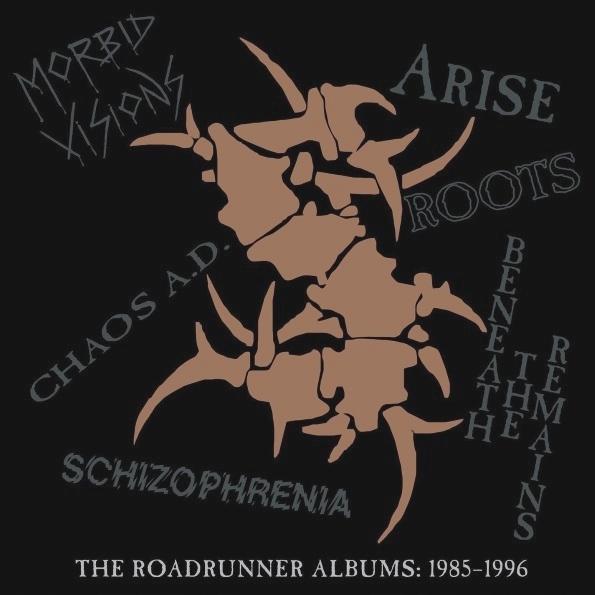 Sepultura – The Roadrunner Albums 1985–1996 (6 LP)Предваряя свой грандиозный европейский тур (в том числе и с концертом в Москве), легендарная бразильская трэш-метал-группа Sepultura выпускает коллекционные бокс-сеты The Roadrunner Albums с записями коллектива, выпущенными между 1985 и 1996 годами на Roadrunner Records.<br>