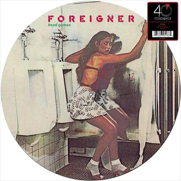 Foreigner – Head Games (LP)Head Games – третий студийный альбом хард рок-группы Foreigner, выпущенный в 1979-м году.<br>