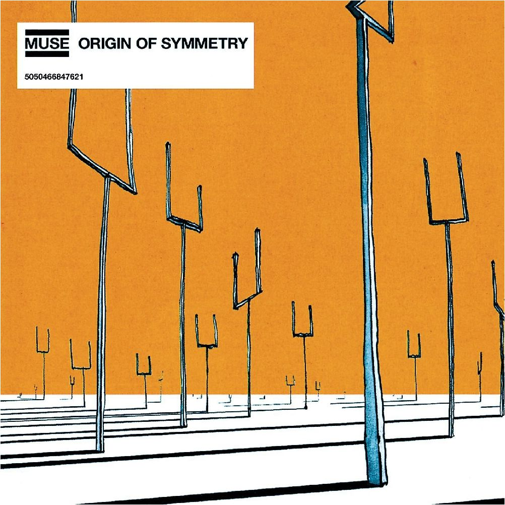 Muse – Origin Of Symmetry (2 LP) shattered symmetry