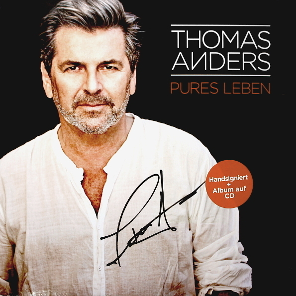 Thomas Anders – Pures Leben (2 LP + CD)Pures Leben – альбом Томаса Андерса «Pures Leben» на двойном виниле плюс CD.<br>