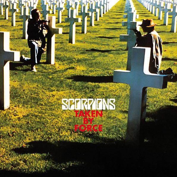 Scorpions – Taken By Force. 50th Anniversary Deluxe Edition (LP + CD)Taken by Force – пятый студийный альбом немецкой рок-группы Scorpions, вышедший в 1977 году.<br>