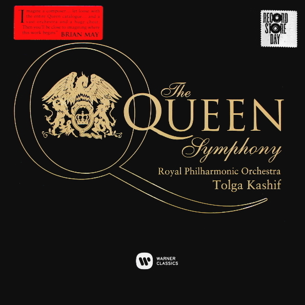 Tolga Kashif & Royal Philharmonic Orchestra – The Queen Symphony (2 LP) the nine day queen