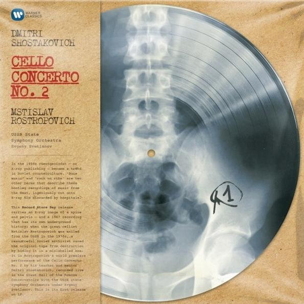 Mstislav Rostropovich – Dmitri Shostakovich: Cello Concerto No. 2 (LP)