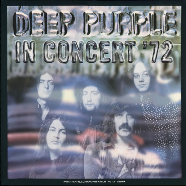 Deep Purple – In Concert'72 (3 LP) deep purple deep purple lp