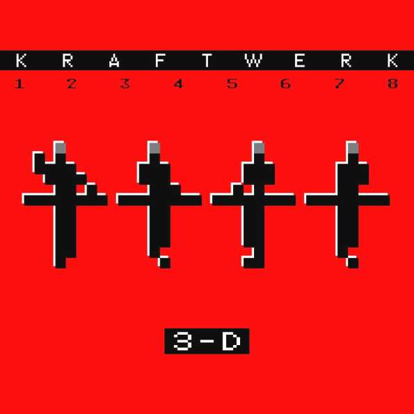 Kraftwerk – 3-D: The Catalogue (2 LP) виниловая пластинка kraftwerk 3 d the catalogue box set 180 gram