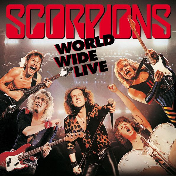 Scorpions – World Wide Live. 50th Anniversary Deluxe Edition (2 LP + CD)