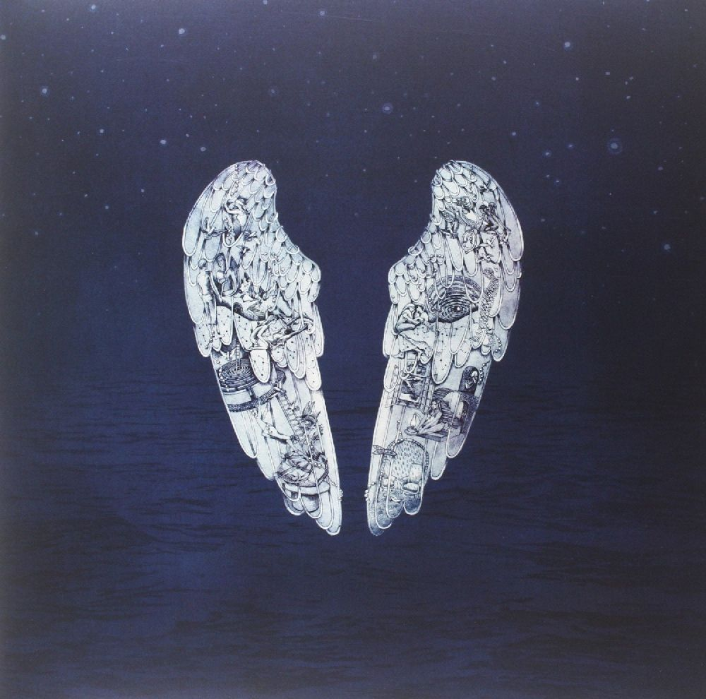Coldplay – Ghost Stories (LP) illustrated ghost stories
