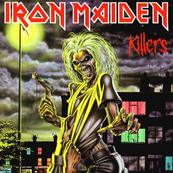 Iron Maiden – Killers (LP)Killers – вторая студийная работа Iron Maiden, изданная в 1981 году. Продюсером альбома выступил Мартин Берч. Впервые в записи принял участие гитарист, Адриан Смит.<br>