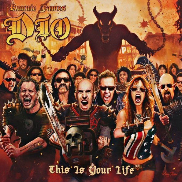 Ronnie James Dio – This Is Your Life (2 LP)Ronnie James Dio – This Is Your Life – трибьют-альбом, посвящённый творчеству хэви-метал музыканта Ронни Джеймса Дио, вокалиста групп: Elf, Rainbow, Black Sabbath, Heaven &amp;amp; Hell, и его собственного коллектива – Dio.<br>