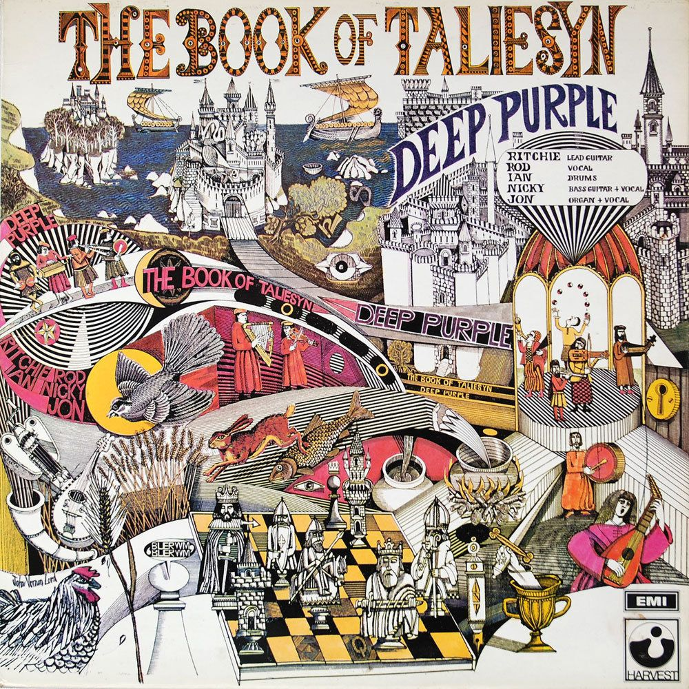 Deep Purple – The Book Of Taliesyn (LP) виниловая пластинка guano apes bel air 2 lp