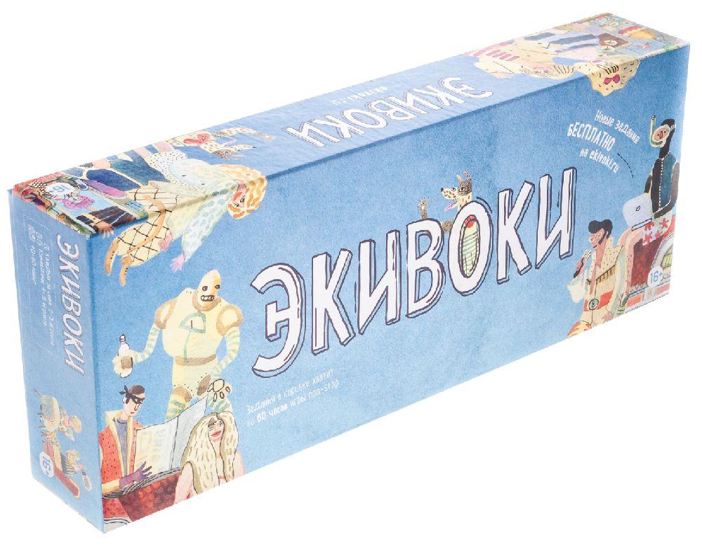 Настольная игра ЭкивокиЭкивоки – игра для больших и маленьких компаний, в которую можно играть командами или поодиночке.<br>