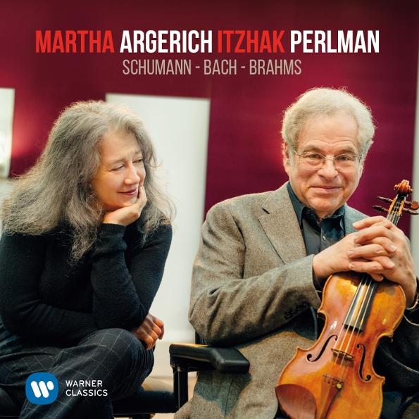Martha Argerich, Itzhak Perlman – Schumann, Bach, Brahms (LP)