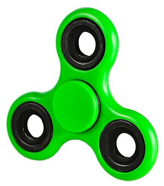 Спиннер пластиковый – металлический подшипник (зеленый)