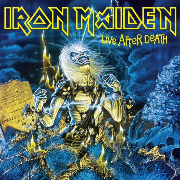 Iron Maiden – Live After Death (2 LP) iron maiden – the book of souls live chapter 3 lp