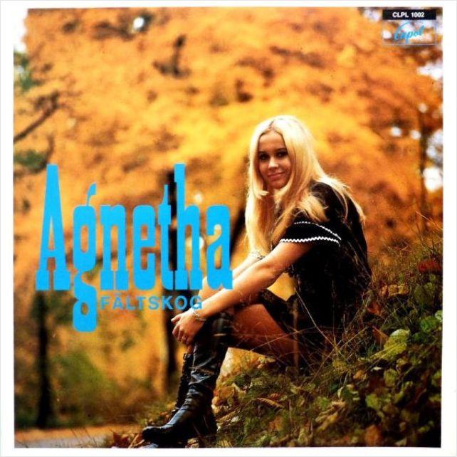 Agnetha Faltskog – Agnetha Faltskog (LP) tio ar med agnetha cd