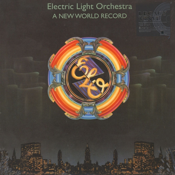 Electric Light Orchestra – A New World Record (LP) electric light orchestra e l o 2 lp