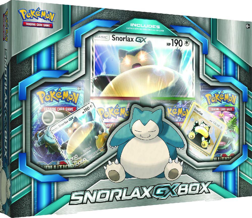 Коллекционный набор Pokemon: Snorlax GXСпящий Снорлакс силён как никогда – и становится ещё более опасным в своей форме-GX!<br>