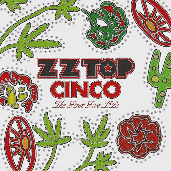 Zz Top – Cinco The First Five LPs (5 LP) цена