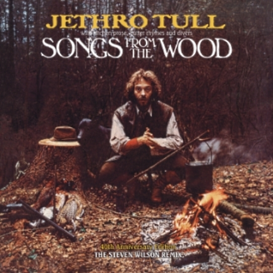 Jethro Tull – Songs From The Wood (LP) ian anderson plays the orchestral jethro tull