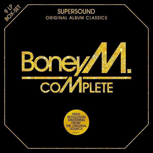 Boney M – Complete Original Album Collection (9 LP)Самая полная антология Boney M. (1976–1985) Complete Original Album Collection на 9 пластинках.<br>