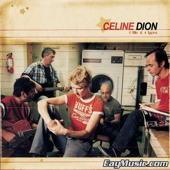 Celine Dion – 1 Fille & 4 Types (LP) celine нарядный галстук в полоску celine 59259