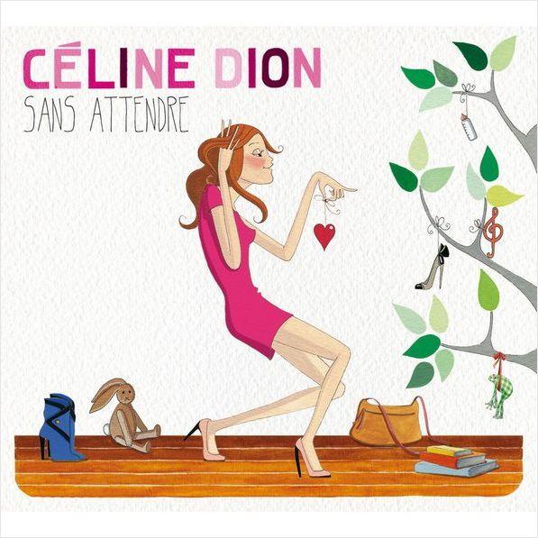 Celine Dion – Sans Attendre (2 LP) celine нарядный галстук в полоску celine 59259