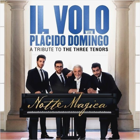 Il Volo With Placido Domingo – Notte Magica: A Tribute To Three Tenors (2 LP) cd dvd il volo