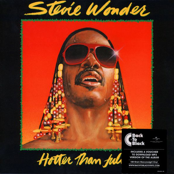 Stevie Wonder – Hotter Than July (LP) стиви уандер stevie wonder the definitive collection