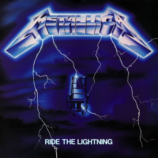 Metallica – Ride The Lightning (LP) ride the dragon 38
