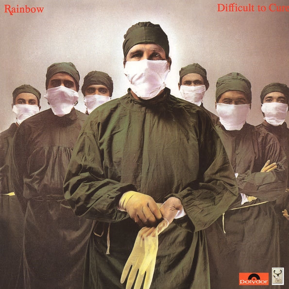 Rainbow – Difficult To Cure (LP) виниловая пластинка guano apes bel air 2 lp