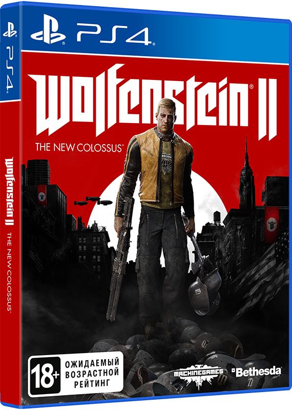 Wolfenstein II: The New Colossus [PS4]Закажите игру Wolfenstein II: The New Colossus до 25 октября 2017 года и получите дополнительные 200 бонусов на вашу карту.<br>