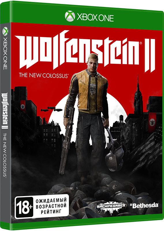 Wolfenstein II: The New Colossus [Xbox One]В Wolfenstein II: The New Colossus вы отправитесь в новое захватывающее приключение, ставшее возможным благодаря передовой технологии id Tech 6.<br>