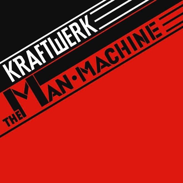 Kraftwerk – The Man Machine (LP) kraftwerk – trans europe express lp